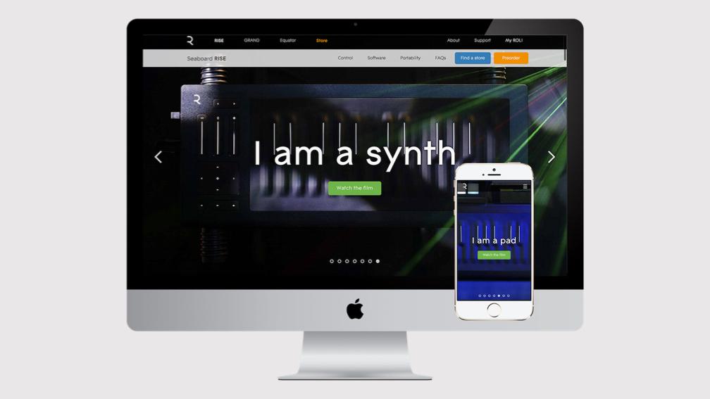 ROLI music ecosystem UX Design