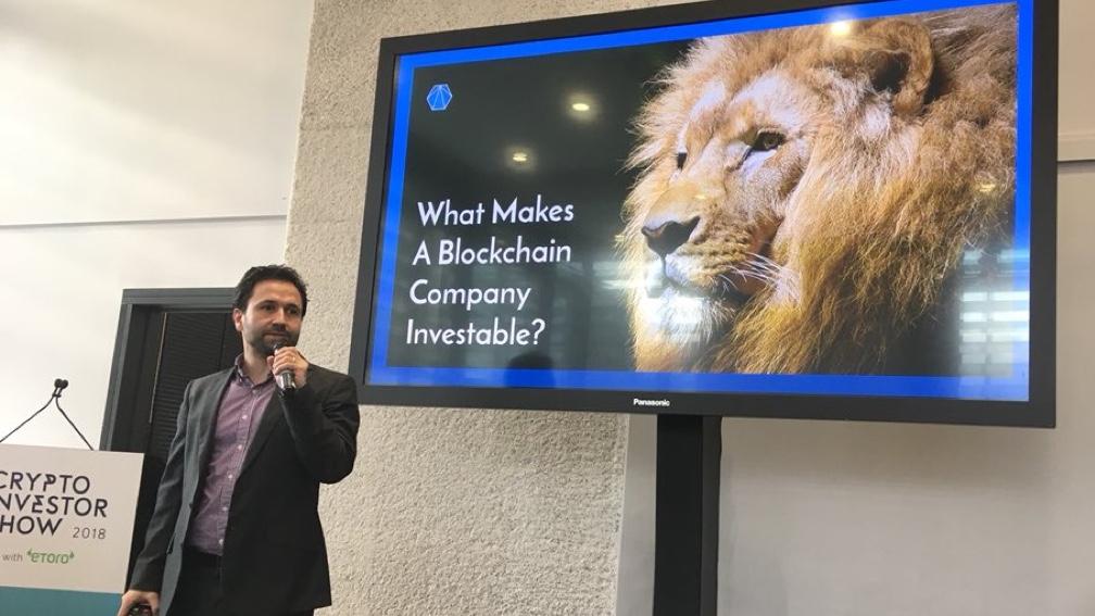 Investable blockchain companies keynote