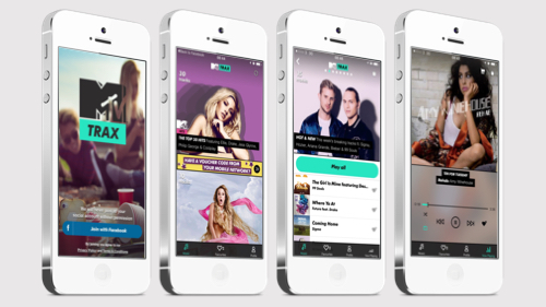 MTV Trax - Mobile Music Listening Re-imagined