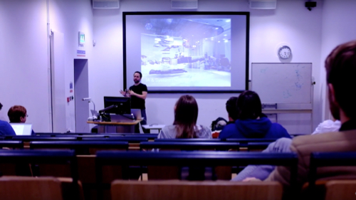 Guest lecture on user centered web development