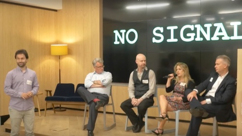 Blockchain panel at Barclays accelerator