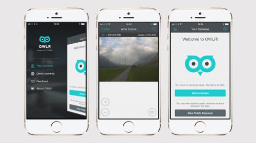 OWLR Camera Control App